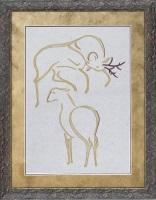 Deers w Frame-200